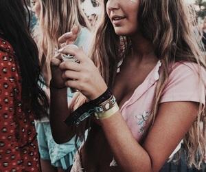 coachella, festival, and hair image