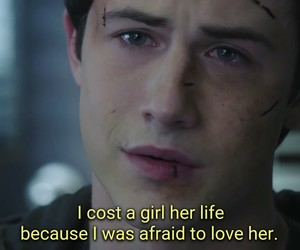 sad, suicide, and 13 reasons why image