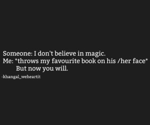 bibliophile, quotes, and fangirl image