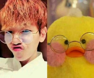 exo, funny, and bbh image