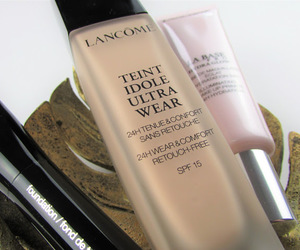 beauty, Foundation, and lancome image