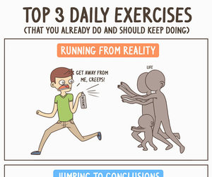 funny, exercise, and lol image