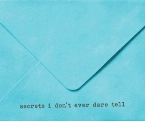 secret, Letter, and text image