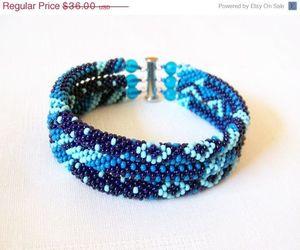 etsy, jewelry, and beaded bracelet image