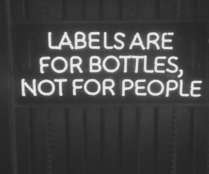 black, labels, and quotes image