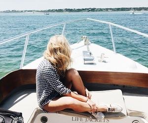 fashion, pretty, and sea image
