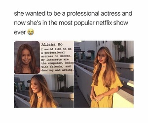 actress, child, and 13 reasons why image
