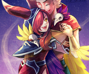 league of legends, rakan, and xayah image