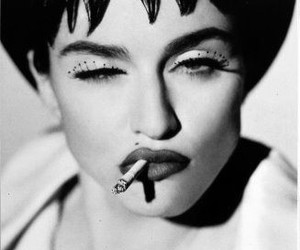 madonna, black and white, and photography image