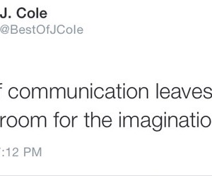 quote, communication, and imagination image