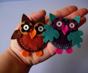feltro, owl, and owls image