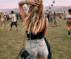 coachella, festival, and fashion image