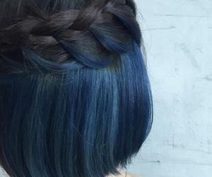 braid, hair, and short hair image