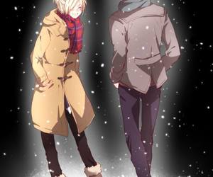 anime, yuri on ice, and otabek image