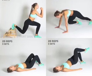workout and healthy hacks image