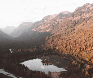 adventure, forest, and lake image