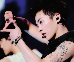 exo, minseok, and kpop image