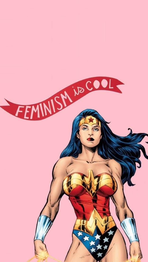 feminism and girls power image