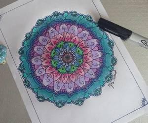 art, colores, and dibujo image