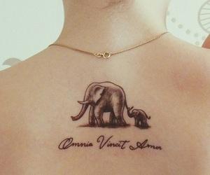 tattoo and elefants image