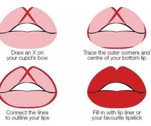 lips, makeup, and tips image