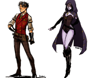 robrae, DC, and raven image