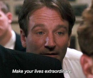 quotes, robin williams, and life image