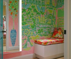 home decor, murals, and walls image