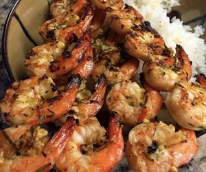 good, rice, and seafood image
