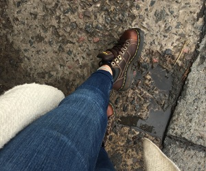 dr martens, street, and ootd image