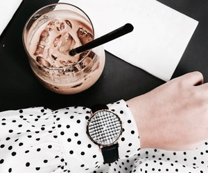 accessories, fashion, and iced coffee image