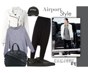 Polyvore, bts, and airport style image