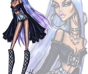 fashion, art, and coachella image