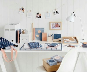 book, college, and desk image