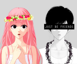 just be friends, vocaloid, and luka image