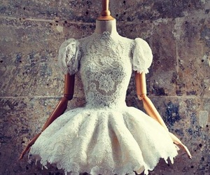 ballerina, white, and dress image