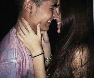 couples, happy, and laugh image