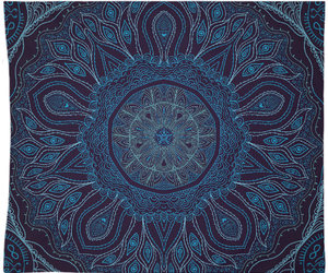 etsy, navy blue, and blue tapestry image