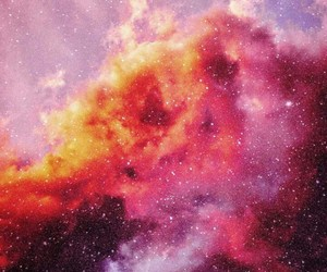 galaxy, sky, and space image