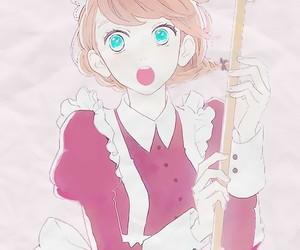 anime girl, manga, and pretty image