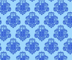 doctor who, tardis, and wallpaper image