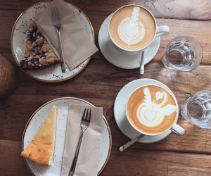 coffee art, espresso, and pastries image