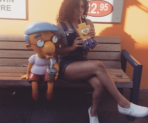 los angeles, overalls, and the simpsons image