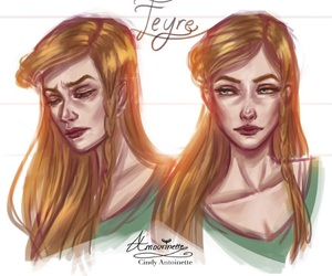 book, feyre, and acotar image