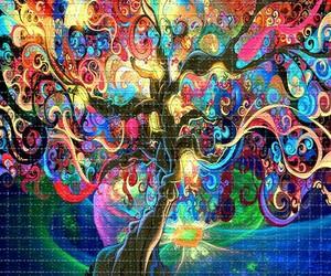 arboles, colores, and murales image