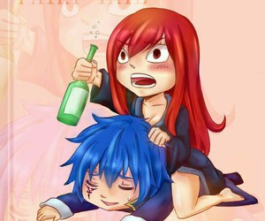 jerza, anime, and fairy tail image