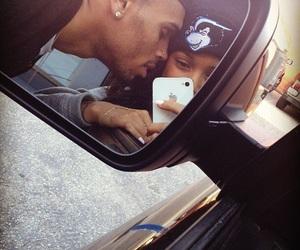 chris brown, love, and couple image