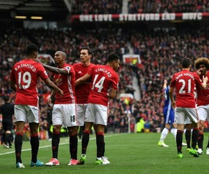 Chelsea, united, and devils image