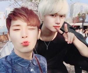 dl, shinwoo, and kkid image