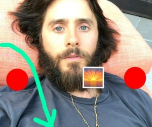 30 seconds to mars, jared leto, and snapchat image